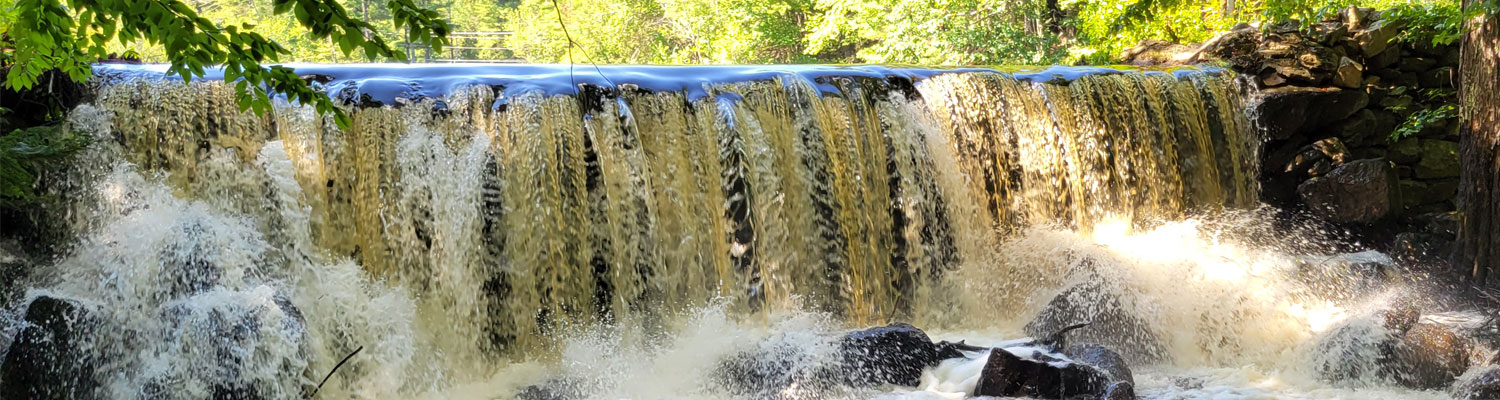 Exeter River Waterfall